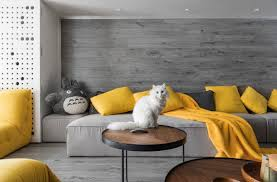 tour a stylishly claw some pet friendly apartment nonagon style