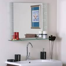 bathroom cabinets circle mirror decor frameless full length
