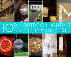 Landscape Lighting Diy Roundup 10 Diy Outdoor Lighting Projects Curbly
