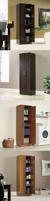 sauder homeplus four shelf storage cabinet storage bins and baskets 159898 furinno 11159ex br multipurpose