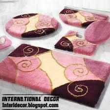 designer bathroom rugs rugs bathroom pink rugs pink bathroom rug set modern bathroom