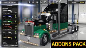 kenworth w900 parts ats mods kenworth w900 accessories pack youtube