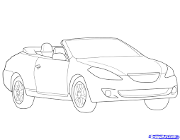 drawn car vehicle pencil and in color drawn car vehicle
