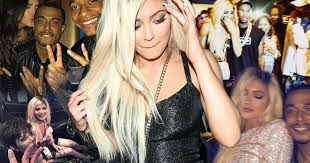 inside kylie jenner u0027s 18th birthday party a list guests ferrari