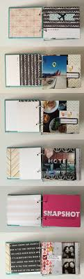 scrapbook photo albums portland weekend friend cation mini scrapbook album cfire chic