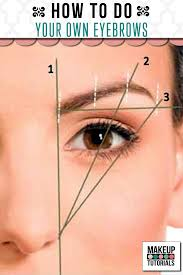 Shaping Eyebrows At Home How To Do Your Own Eyebrows Makeup Tutorials