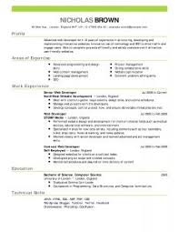 professional format resume examples of resumes best cv resume format latest intended for 85
