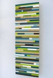 painted wood artwork 12x36 painted wood modern wall sculpture 325 00