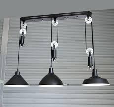 industrial pulley pendant light industrial pulley light adjustable silver pulley pendant l dining