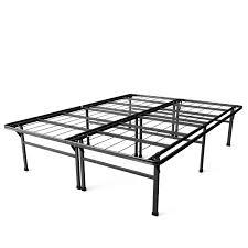 Metal Platform Bed Frames Full Size 18 Inch High Rise Folding Metal Platform Bed Frame