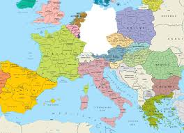 map of germany in europe europe without germany shittymapporn inside on map