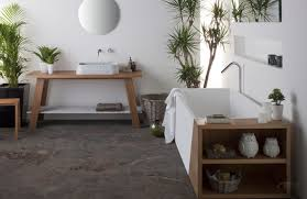 nice bathroom ideas with contemporary recessed bathtub with wooden