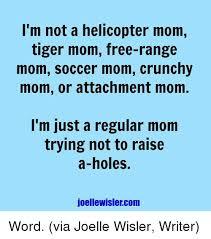 Tiger Mom Memes - i m not a helicopter mom tiger mom free range mom soccer mom