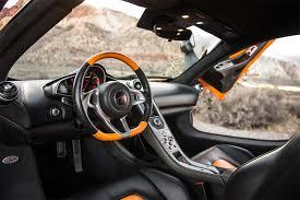 Exotic Car Interior Rent A 2013 Mclaren Mp4 12c Orange In Las Vegas Starting At 499