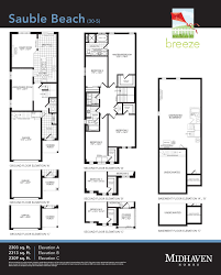 Breeze House Floor Plan Breeze In Oshawa On Prices U0026 Floor Plans