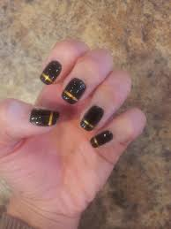 nail it chic gold line design