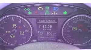 audi dashboard a5 audi q5 engine epc dash warning light symbol how to remove youtube