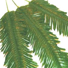 palm leaves for palm sunday x48 artificial palm leaves decorative plastic palm sunday