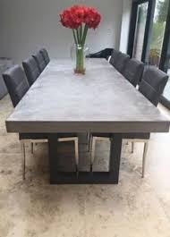 modern grey dining table 3 metre polished concrete dining table home style pinterest