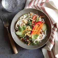 cooking light vegan recipes superfast vegetarian recipes thai noodles noodle bowls and noodle