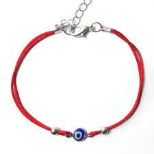red bracelet with eye images Evil eye red string kabbalah bracelet mati nazar bead good luck jpg