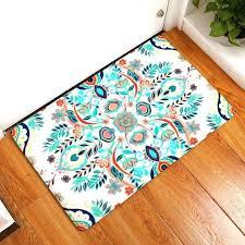 Seashell Bathroom Rug Floral Bath Rug Plaid Textured Rectangular Bathroom Rug Sets Ideas