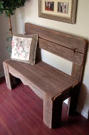 Rustic Wooden Bench Reclaimed Wood Bench Charming Rustic Furniture Country Home