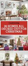 Christmas Home Decoration Pic 26 Best Christmas Home Tours Houses Decorated For Christmas
