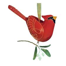 2005 of birds northern cardinal hallmark ornament at hooked
