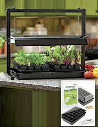 Grow Lights For Indoor Herb Garden - indoor herb garden kits herb garden gift ideas