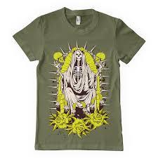 santa muerte t shirt template tshirt factory