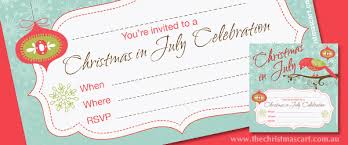 free in july invitation template the cart