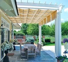 pergola for shade awning for pergolas pergola retractable shade