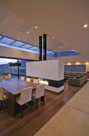 living room modern living room design with fireplace front door