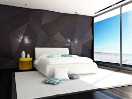 modern black and white bedroom design ideas for 2017 bedroom white bedding and rug combined with unique black walls for modern bedroom concept