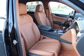 2017 bentley bentayga interior 2017 bentley bentayga saddle stock gnc058677a for sale near