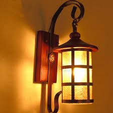 Mediterranean Wall Sconces Mediterranean Style Wooden Fixture Light Wall Sconce