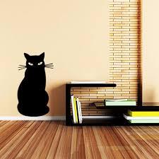 Wallpaper Livingroom Online Get Cheap Black Cat Wallpaper Aliexpress Com Alibaba Group