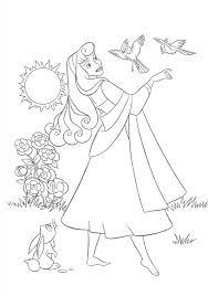 sleeping beauty coloring pages kids girls coloring