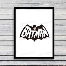 cool black framed batman wall art bathroom amidug