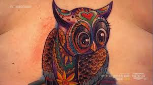 tattoo nightmares is located where the top of the owl done by tommy on tattoo nightmares dreaming of