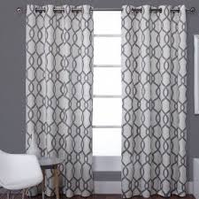 Black And White Curtain Designs Black And White Curtains Visualizeus
