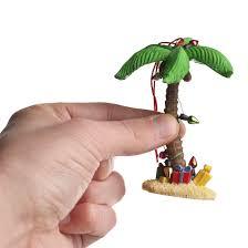 miniature palm tree ornament miniatures