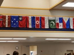 Flying The Flag Upside Down Dark Micronesia Old Myanmar Centered North Korea And An Upside