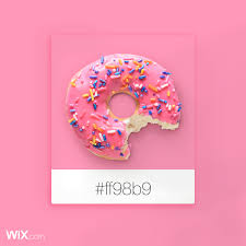 color palette inspiration candy pink ff98b9 color