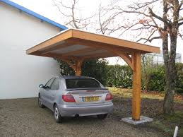 modern carport design ideas car port with garbage can alcove to right remodel inspirations