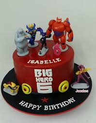 big hero 6 cake for isabelle u0027s 6th birthday jocakes