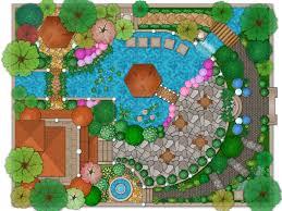 Idea Plans Design Ideas 43 Landscape Architecture Plans Pool Garden And