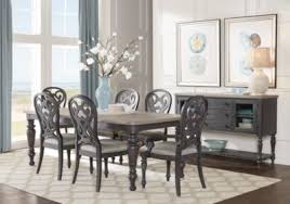 cindy crawford home coastal breeze charcoal 5 pc rectangle dining