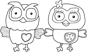 baby animals coloring pages printable free printable owl and